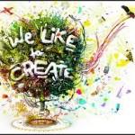 we like to create